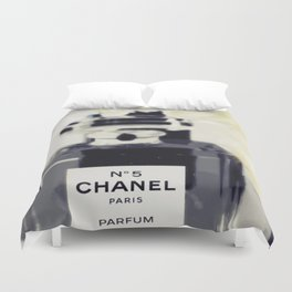 Black and White Coco Duvet Cover