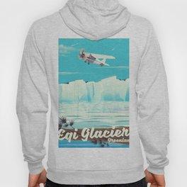 Eqi Glacier Greenland. Hoody