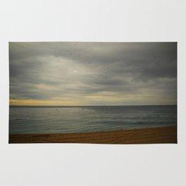 Barcelona beach Rug