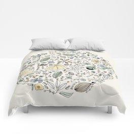 Circulo de flores Comforters
