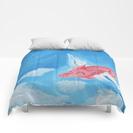 Stratosphere Flight Comforters