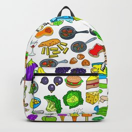 Food Lovers Variety Set Backpack
