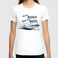 T-shirts featuring At the Beach with the Boys by dellydel