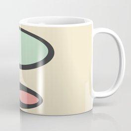 Cream Mid Century Pods Coffee Mug