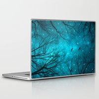 tree Laptop & iPad Skins featuring Stars Can't Shine Without Darkness  by soaring anchor designs
