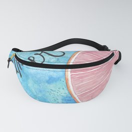 The grapefruit summer Fanny Pack
