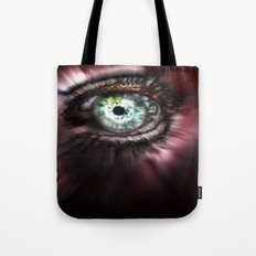 Eye from Above Tote Bag