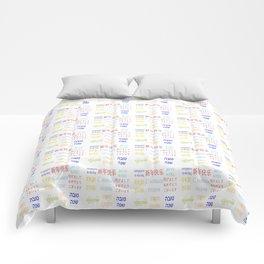 happy new year 10 Comforters