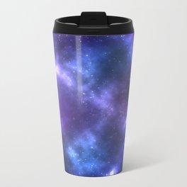 Blue Galaxy Metal Travel Mug
