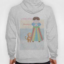 Fuerza Mexico by Mini Frida Hoody