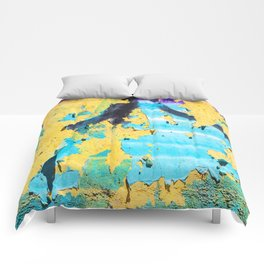 Softly peeling paint Comforters