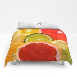 Simply Citrus, Orange Lemon and Mandarin Comforters
