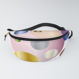 planetarium abstract geometrical design Fanny Pack