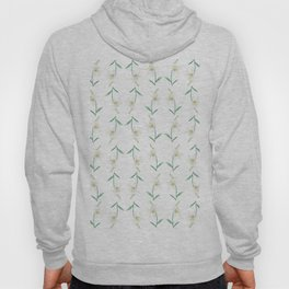 white lily watercolor Hoody