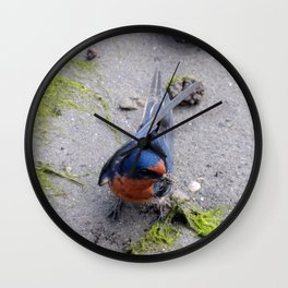 Home Building Wall Clock