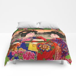 Two Geishas Comforters
