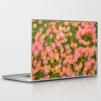 blanket Laptop & iPad Skins featuring Daisy Blanket by Kaitlynn Lewis
