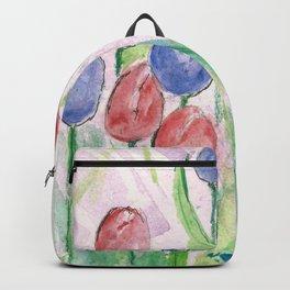 Nine Tulips Backpack