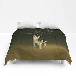 Strawberry Guava Tree Comforters