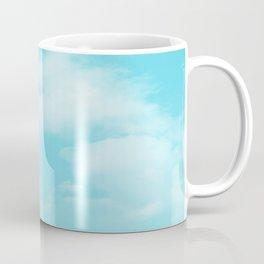 Aqua Blue Clouds Coffee Mug
