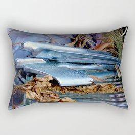 Chrome On Chrome Rectangular Pillow