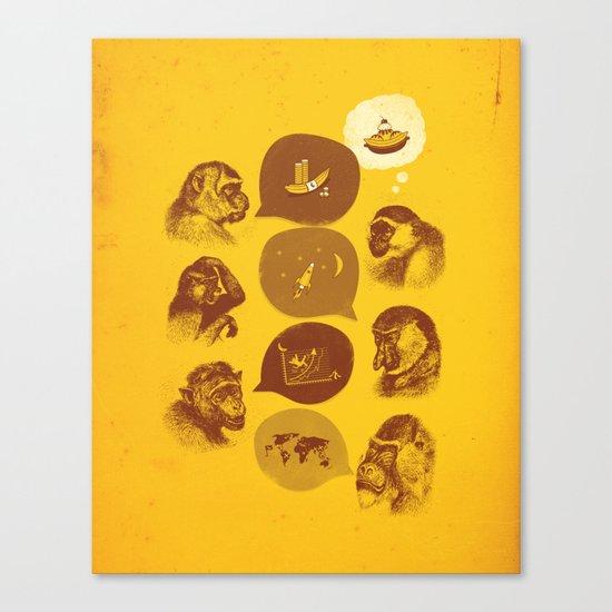Bananaz Canvas Print