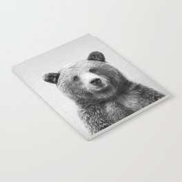Grizzly Bear - Black & White Notebook