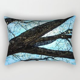 Spring Lines II Rectangular Pillow