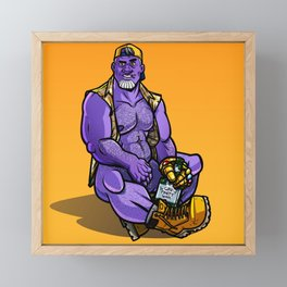 Infinity Daddy Framed Mini Art Print