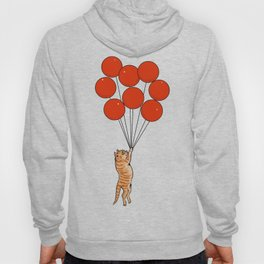I Believe I Can Fly Cat Hoody