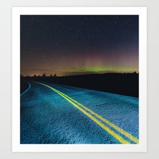 Road to the North Art Print