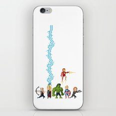 Avenging Pixels iPhone & iPod Skin