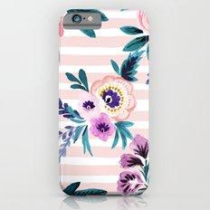 Victoria Blushing Stripe Slim Case iPhone 6s
