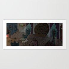 Living Room Art Print