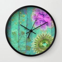 Dezincking Existence Flower  ID:16165-094422-82461 Wall Clock