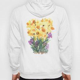 Spring Daffodil Patch Hoody