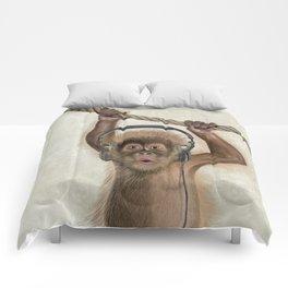 Baby monkey Comforters