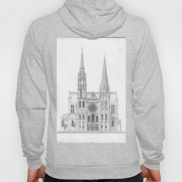 Cathedrale De Chartres Chartres Cathedral Hoody
