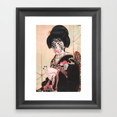 Geisha (2014) Framed Art Print