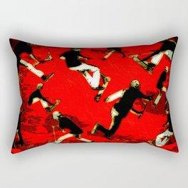 Scooter Mania - Stunt Scooter Fun Rectangular Pillow