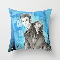 Doctor Who: The 10th Doctor Throw Pillow