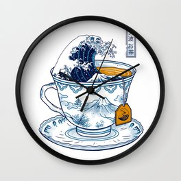 The Great Kanagawa Tee Wall Clock