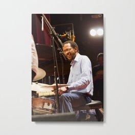 Brian Blade and the Fellowship Band. XII Panama Jazz Festival Metal Print