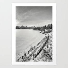 Along Ottawa river Art Print