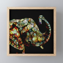 Elephant dream Framed Mini Art Print