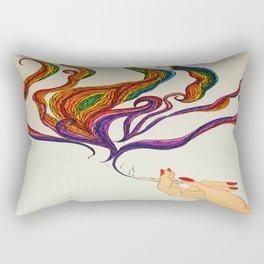 Political Views Rectangular Pillow