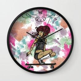 Go! Skate Wall Clock