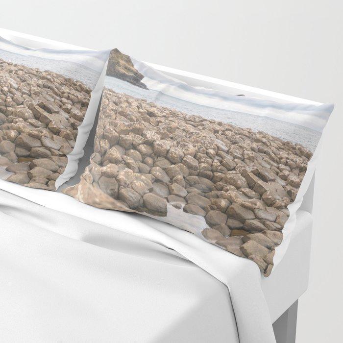Giants Causeway in Ireland Pillow Sham