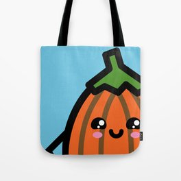 Creepy Egg Pumpkin - Halloween Tote Bag