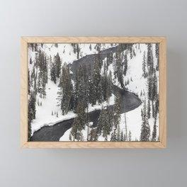 Yellowstone National Park - Lewis River 2 Framed Mini Art Print